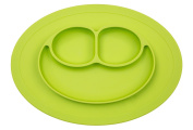 Shopshopdirect Silicone Kids Placemat, Table Suction, Fits Most Highchair Trays, Dishwasher, Microwave Safe, FDA Approved BPA Free