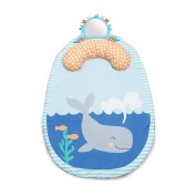 Boppy Tummy Time To Go Whale Spout Pad, Grey