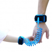 Child Leash Anti Lost Wrist Link Wrist Belt for Toddler Wrist Straps Cotton Eco Friendly Skin Safe 1.5M for Child or Toddler