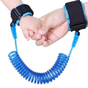 LieberKind Anti Lost Wrist Link, Toddler Safety Harness Leash Extra Long, Perfect for Child, Babies & Kids 250cm Strap