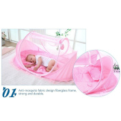 Baby Travel Bed Portable Baby Travel Tent Baby Mosquito Net Portable Baby Cots for 0-15 Month Baby