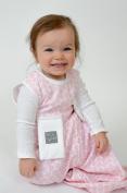 Bitta Kidda Baby Soother Sleeping Bag Wearable Blanket + Lovey - Pink Circles 3M