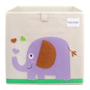 Foldable Storage Box Toy Bin 33cm , Elephant
