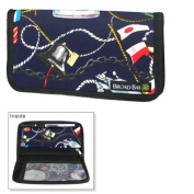 Boating Nautical Chequebook Cover