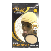 Qfitt Make Your Own Wig Span Dome Style Wig Cap #5037 Natural Colour