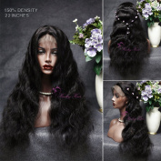 Hailey hair Body Wave Lace Front Wigs 130% Density Brazilian Virgin Remy Human Hair Wigs with Baby Hair Natural Colour 41cm