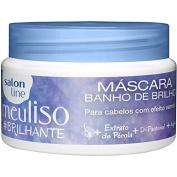 Linha Tratamento (Meu Liso) Salon Line - Mascara Banho De Brilho Brilhante 300 Gr - (Salon Line Treatment