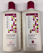 Andalou Naturals 1000 Roses Complex Colour Care Shampoo and Conditioner