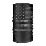 DahelinG Unisex Stylish USA American Retro Flag Quick Dry Microfiber Headwear Outdoor Magic Bandana As Neck Gaiter Head Wrap Headband Scarf Face Mask Ultra Soft Elastic One Size