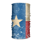 DahelinG Unisex Stylish USA AmericaTexas Retro Flag Quick Dry Microfiber Headwear Outdoor Magic Bandana As Neck Gaiter Head Wrap Headband Scarf Face Mask Ultra Soft Elastic One Size
