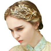 YAZILIND Beauty Women's Bridal Wedding Hair Clip Barrette Party Rhinestones Alloy Women Hair Accessories 1pc