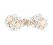Rhinestone Pearl Hair barrettes for women Flower Hair Clips Wedding Hair pins