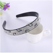 Casualfashion Luxury Crystal Hair Hoop Band Women Girls Headband Headwear Hair Accessories