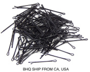 100 Pcs 5.1cm inch Bobby Pins Hair Grips Clips New Style Black