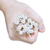 Bridalvenus Wedding Hair Pins Clips Silver Bridal Hair Accessories for Women and Girls