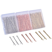 KangSong Meatl Bobby Pins Hair Clips for Hair Decoration 186 Pcs