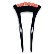 Chidoriya Nene Kanzashi Hair Stick - Black