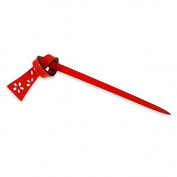 Chidoriya Red Musubi Hair Stick