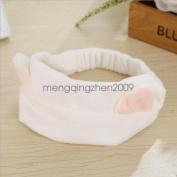 White - Sweet Style Lady Girl New Design Cute Lovely Charm Cat Ears Headband Hairband