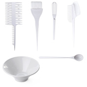 Onedor Salon Hair Colouring Dyeing Tool Kits - Colour Dye Brush Comb Mixing Bowl Hair Tint DIY Set