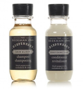 Beekman 1802 Dispensary Shampoo & Conditioner Lot of 14 (7 of each) 30ml Bottles.