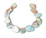 African Opal - Aqua Terra Jasper - Imperial Jasper - Nugget - Slice - Slab - Pendant - Full Strand - Centre Drilled - 35mm - 45mm