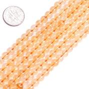 "Semi Precious Gemstone Citrine Beads for Jewellery Making Strand 15"""
