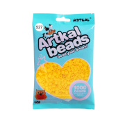 Artkal S-5mm 134 Colours Midi 1000 count Yellow Bead Bag