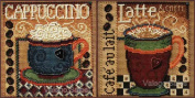 Mill Hill Buttons Beads Counted Cross Stitch Set ~ CAPPUCCINO & LATTE #1482