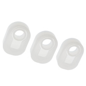 Jili Online 3 Piece Assorted Size DIY Ring Silicone Mould Jewellery Rings Resin Casting Mould Handmade Crafts Irregular Shape