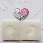 SEPTEMBER Jewellery Beading Casting Mould, DIY Handmade Silicone Mould, Clear Mould For Resin, Crystal, Square, Heart Shape Gift