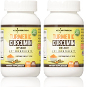 Turmeric Curcumin 1500mg 2 month supply 120 Veggie Capsules- with Piperine(Black Pepper) Extract