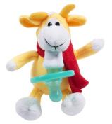 Newborn Boys Girls Pacifier Holder Cute Soft Plush Toys Detachable Infant Baby Shower Gift Set