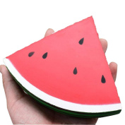 Vibola Kawaii Jumbo Squishy Slow Rising Squishies Toys Scented Squeeze watermelon Stress Relief Toy