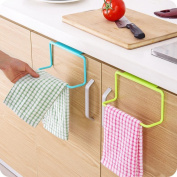 Nesee Bathroom Kitchen Cabinet Cupboard Towel Rack Hanging Holder Organiser Hanger