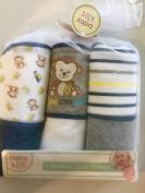 Baby Kiss Monkey and Bananas Hooded Bath Towels
