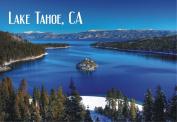 Emerald Bay, Lake Tahoe, State Park, California, CA, Souvenir Magnet 2 x 3 Fridge Magnet