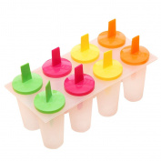 MagiDeal Freezer Ice Pop Maker Mould Popsicle Yoghurt Ice Cream Mould Frozen Treats