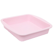 Wiltshire Flexible Cake Pan Pink Square