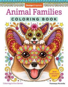 Animal Families Coloring Book