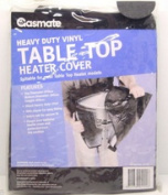 Gasmate Deluxe Table Top Heater Cover 610mm D X 400mm H Grey No CTTD