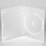 Vision Media 10 X Amaray Clear Single Dvd/cd/blu Ray Case -