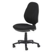 Rs To Go 'jura' Permanent Contact Mechanism Operator Chair In Black