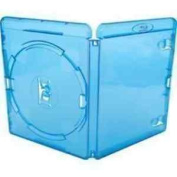 Vision Media 10 X Amaray Single Blu Ray Case - Replacement Case 14mm Spine