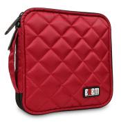 Bubm Portable Water Resistant 32 Disc Storage Bag For Cd Dvd Vcd Dj Holder
