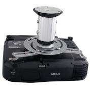 Universal Silver Lcd Dlp Ceiling Projector Mount Bracket Tilt Holder Swivel Home