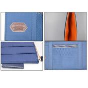 Car Visor Organiser, Sun Shade Cd Holder Card Storage Pouch Bag Dark Blue