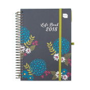Academic Diary 2018 Week To View A5 Diary Life Book. With Large Spaces