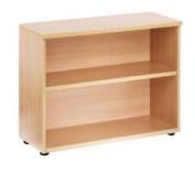 Jemini 730mm Bookcase 1 Shelf Oak Kf838416