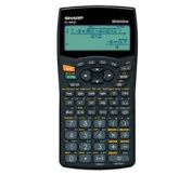Sharp Writeview Calculator Scientific Battery-power 4-line 335 Functions 2-key